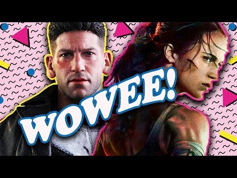 THE PUNISHER, TOMB RAIDER, and MOTHER! | The BS On The INTERNET