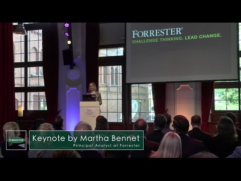 Forrester Keynote des Banking and Insurance Summit