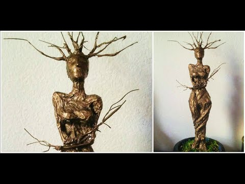 Tree Nympth Wire Sculpture / Driada de Alambre ♥