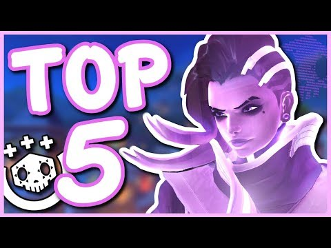 Overwatch - TOP 5 BEST ABILITIES IN OVERWATCH