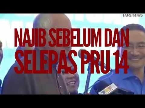 ✅NAJIB SEBELUM PRU 14 & SELEPAS PRU 14