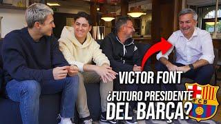 ¿CÓMO HARÁS QUE MESSI SE QUEDE? 5 PREGUNTAS SALSEANTES a VICTOR FONT *¿Futuro presidente del Barça?*