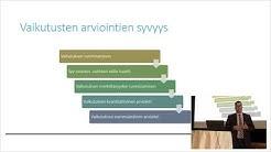 Anssi Keinänen: Ympäristövaikutusten arviointi lainvalmistelussa