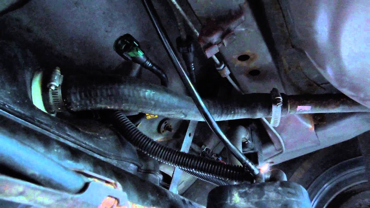 2004 Duramax Fuel Filter Location
