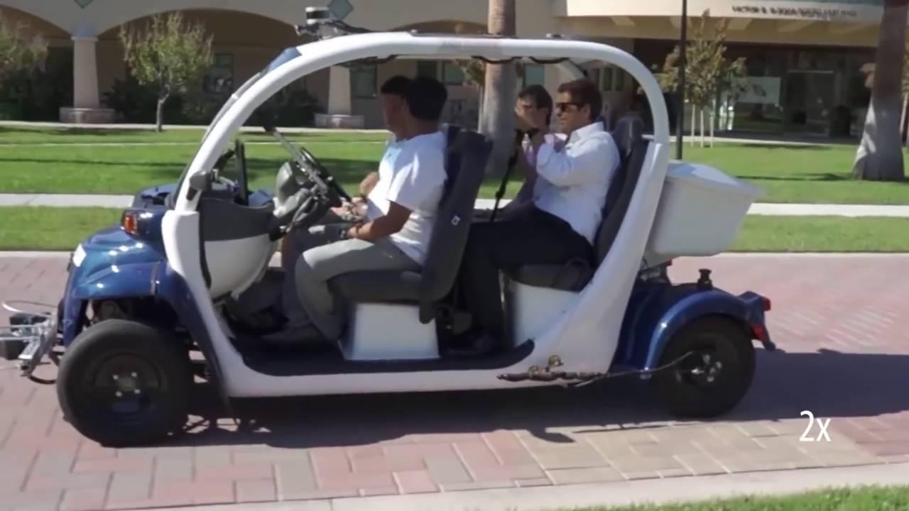 Self driving golf carts by auro robotics y combinator for Narrow golf cart