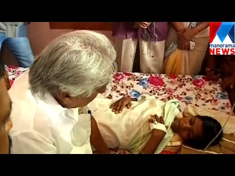 Ommenchandy Visit Jishnu's Sister Avishna    Manorama News