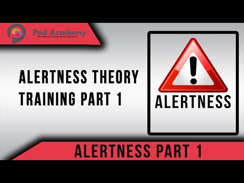 Driving Theory Test Questions And Answers 2020 - Alertness - Part 1 (theory Test Course)
