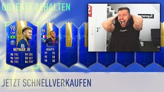 FIFA 19: 11 LIGUE 1 TOTS IN 1 PACK 💯💯 TOP 100 WEEKEND LEAGUE PACK