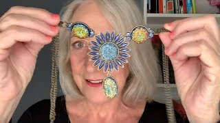 Sparkly Fashion for Older Women: Margaret's Latest Charity Shop Necklace Haul