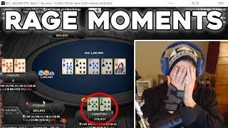 UNBELIEVABLE Poker Rage Moments