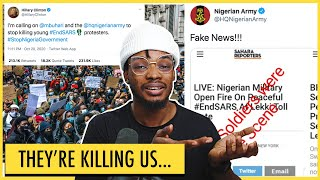 POLICE BRUTALITY: Nigerians are getting killed by the police while the rest of the world sleeps