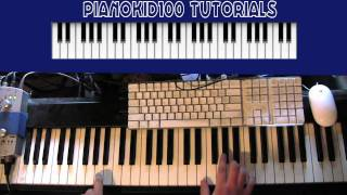 "Piano Tutorial for ""Doesn"