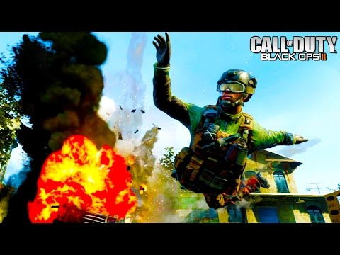 Call Of Duty Black Ops 2 - HikeTheGamer vs The World - Call Of Duty Funny Moments