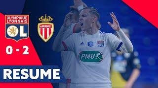 Résumé OL - AS Monaco | Quart de finale de Coupe de France | Olympique Lyonnais