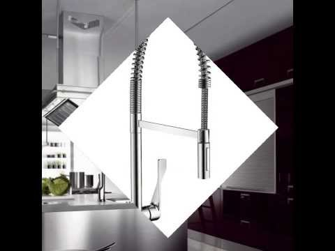 Hansgrohe 39840001 Axor Citterio Semi Pro Kitchen Faucet   YouTube