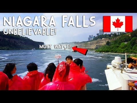 MUST WATCH: NIAGARA FALLS! UNBELIEVABLE! | Vlog #192