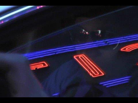 Rap superstar LL Cool J drives his Bentley in New York City