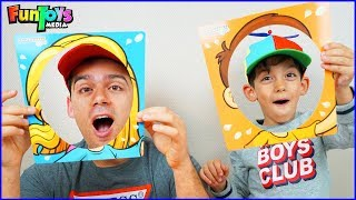 Jason Plays Fun Kids Game | Whipped Cream in Face Challenge!