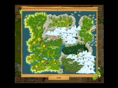 The Island Castaway Lost World Map