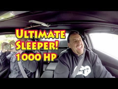World's Ultimate Sleeper!  Street Test NRE Patented Mirror Image Turbo 427 LS Camaro Daily Driver.