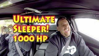 Кінцевою шпали світі! Вуличний тест ЕРЭ запатентований дзеркальний Турбо 427 ЛЗ Камаро щоденний водій.