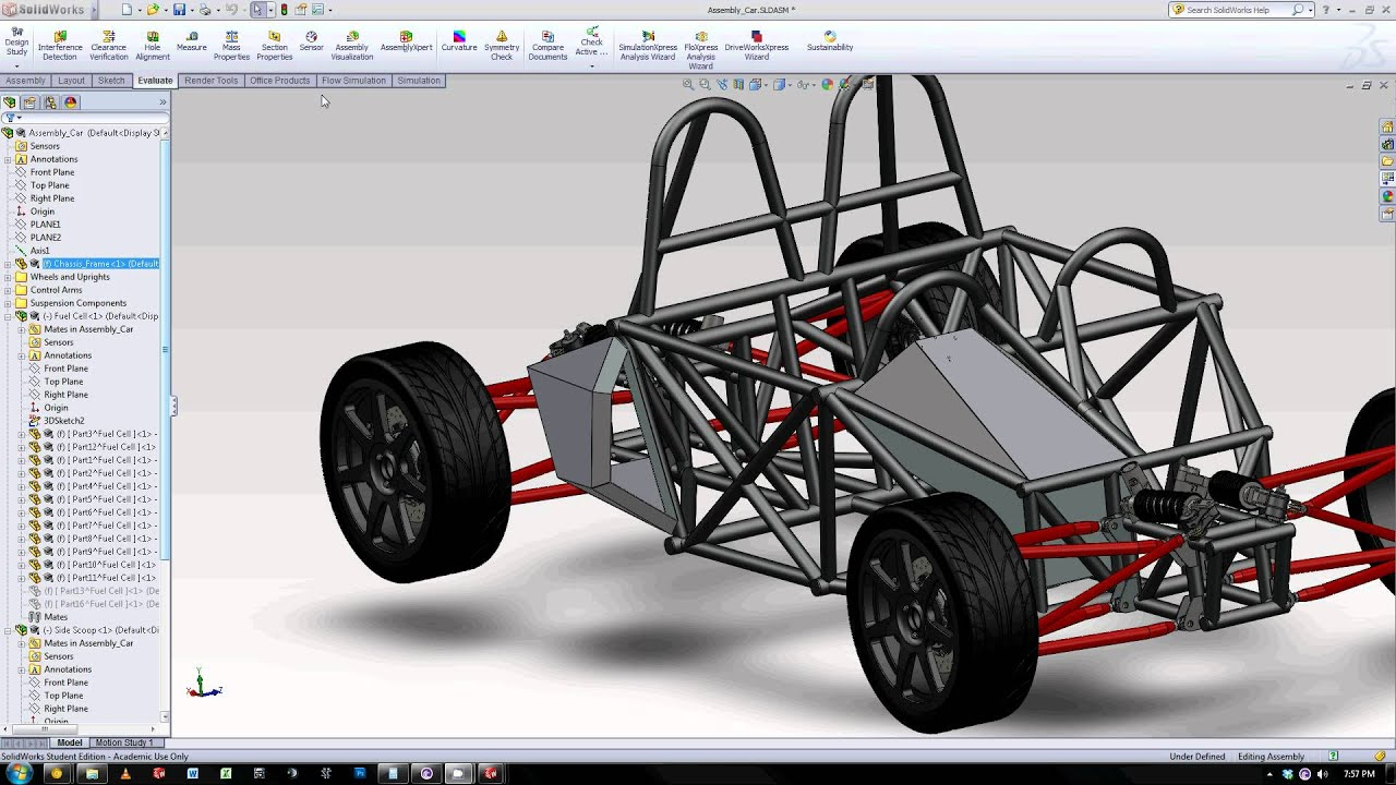 Custom Fuel Cell And Side Air Scoop Solidworks Sheet