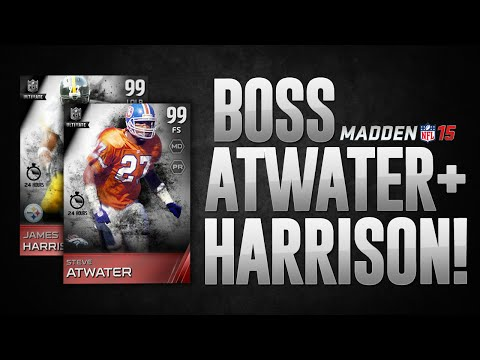 BOSS STEVE ATWATER + BOSS JAMES HARRISON! - Madden 15 Ultimate Team Pack Opening - MUT 15