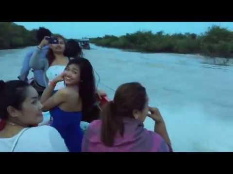 Kampong Phluk -Tonle Sap Lake and Floating Fishing Village - Siem Reap Cambodia