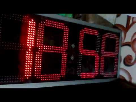 ds3231 alarm digital clock with large 7segment led youtube rh youtube com