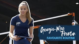 Georgia Mae Fenton's favourite routine