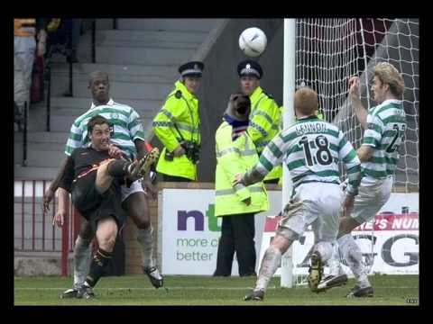 Helicopter Sunday 2005 Rangers win the league Easter Road ...