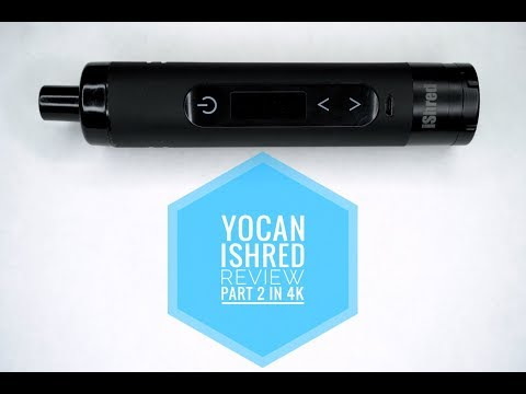 Yocan IShred Review Part 2! (1 month later) 4k - YouTube