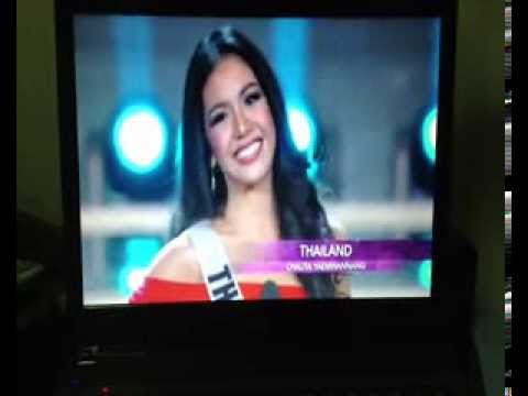 Miss Thailand Universe 2013 - Preliminary Competition
