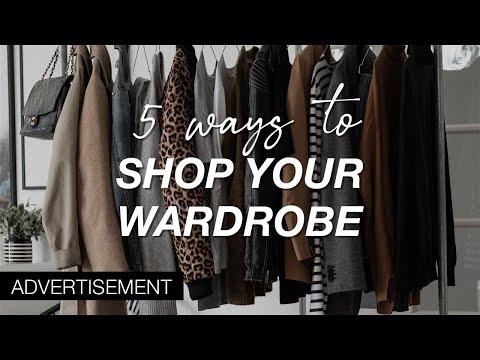 5 Ways To Shop Your Own Wardrobe This Autumn | Autumn Capsule Wardrobe