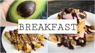 Мои Любимые Завтраки | Что Я Ем? | 5 Вкусных И Полезных Завтраков | Быстро И Легко |