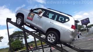 Test Drive Toyota prado Control de Tracción Activo A-TRC 2014 Colombia FULL HD