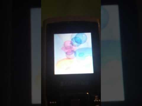 Samsung SGH-C130 Startup/shutdown 2