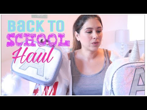 BACK TO SCHOOL HAUL 2017! | JUSTICE, H&M, OLD NAVY!