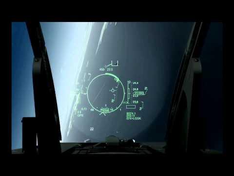 FSX F-16 vs F-20 Dogfight HUD Training