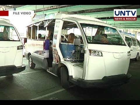 Modernization of public utility vehicles will take up to 2020 says DOTr