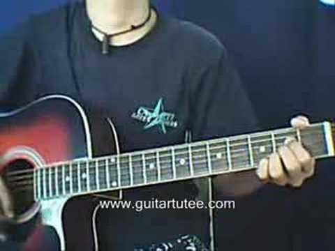 Half Alive (of Second Hand Serenade, by www.guitartutee.com)