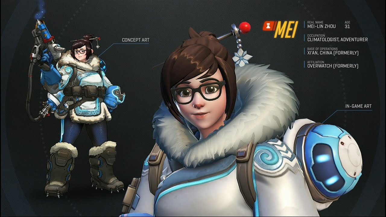 Overwatch Mei Gameplay 1 Youtube