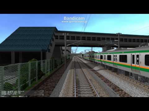 鉄道模型シミュレーター5  快速線側前面展望 NO.1