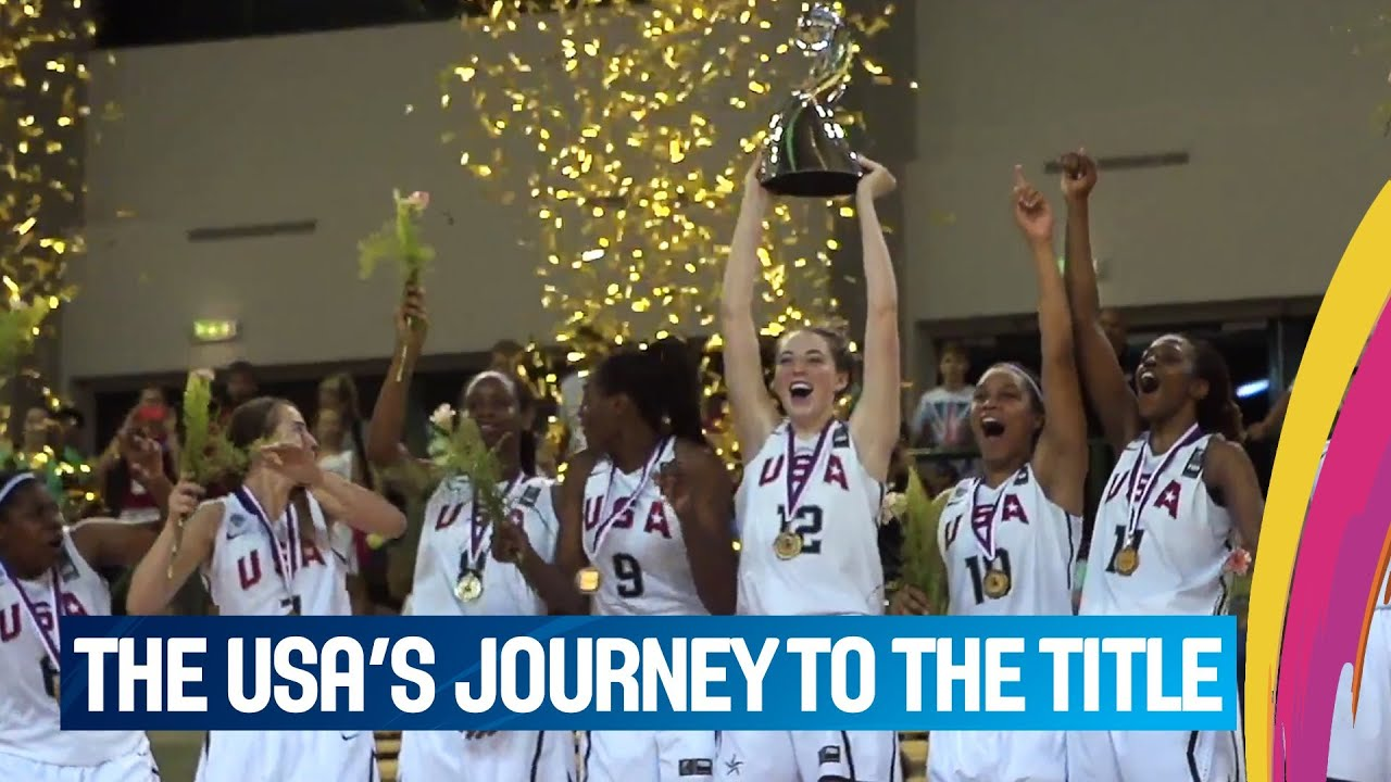 USA's journey to the title
