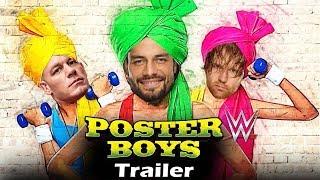 Poster Boys in WWE   John Cena as Sunny deol, Roman Reigns as bobby deol, Shreyas Talpade