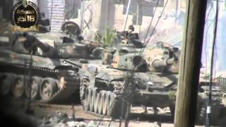 Попадания Рпг -7 в Т 72 Сирия