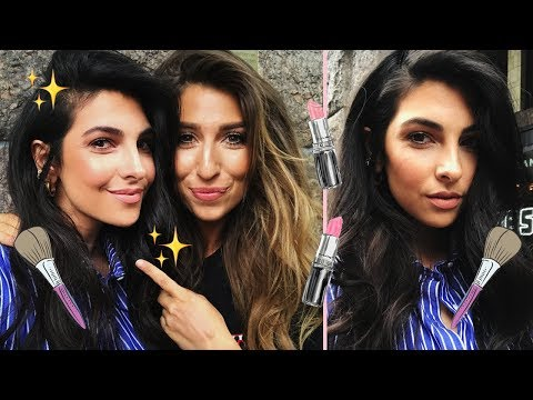 XELLY CABAU DOES MY MAKE-UP - Glam with me #4 - Anna Nooshin