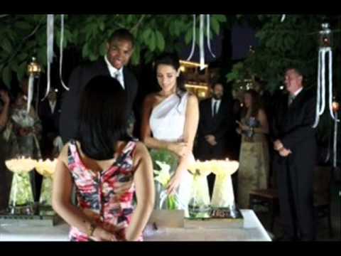 boda de amelia ... Amelia Vega Y Su Esposo