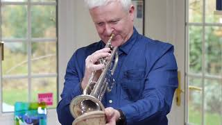 Mike Lovatt performs 'Slinky' trumpet with a mute thumbnail