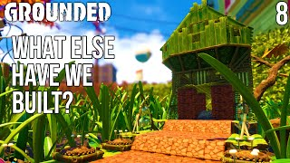 Big House On A Log!  | Grounded Gameplay/let's Play E8
